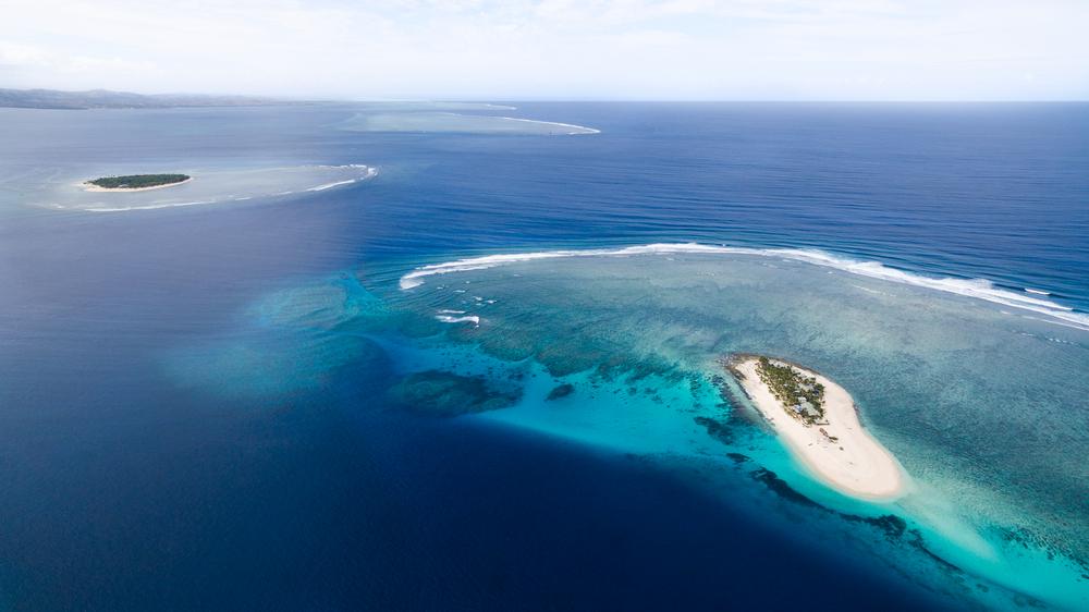 Fiji Islands aerial view | © Tyler Rooke / Shutterstock