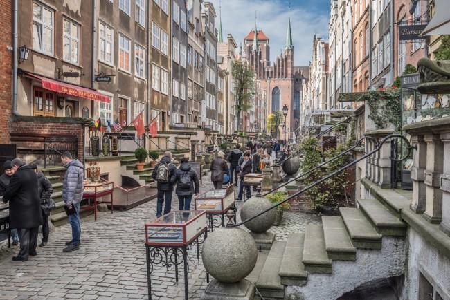 Mariacka street   © Mo Larjung / Shutterstock