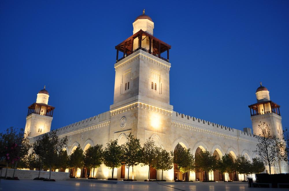 King Hussein's Bin Talal Mosque, Jordan © Ahmad A Atwah