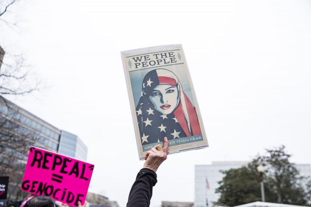 Woman's March - New York - 2017 © Amanda Suarez