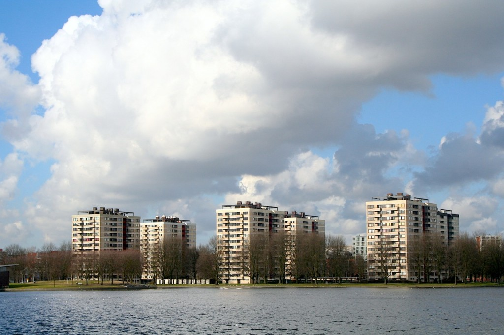 Sloterpas is a large lake in the Nieuw-West   © Eriksw /WikiCommons
