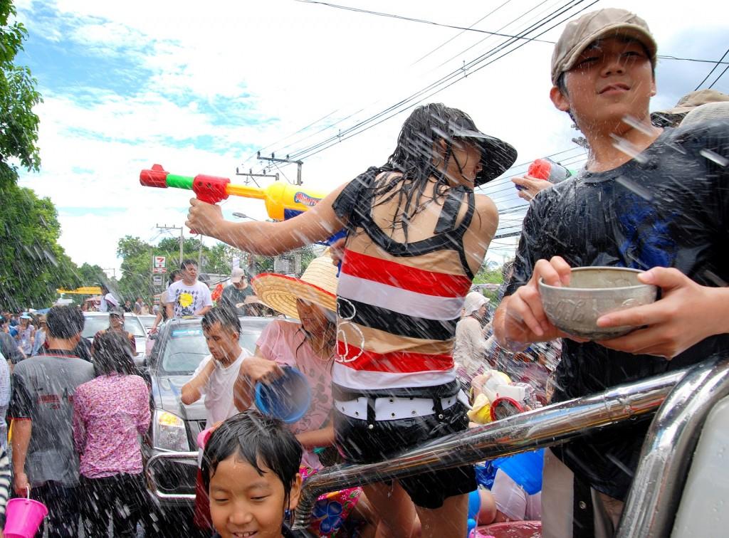 songkran_012| © Takeaway/Wikimedia commons