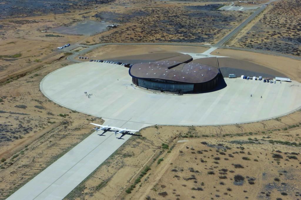 Virgin Galactic spaceport in the Mojave desert, New Mexico | © Virgin Galactic