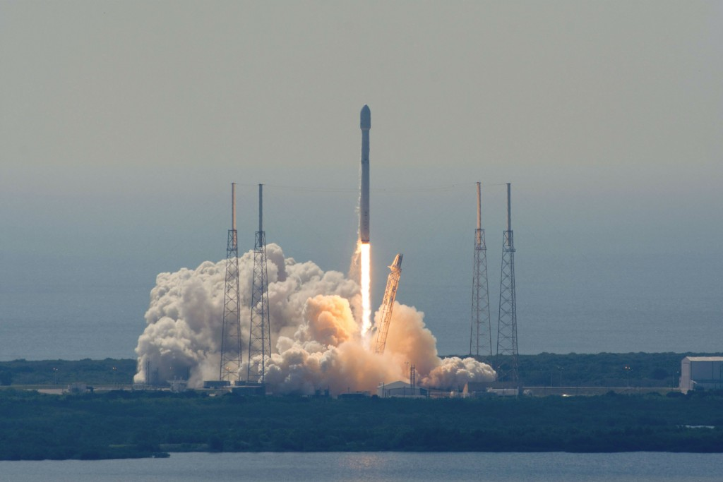 Liftoff from a distance. | Courtesy SpaceX.