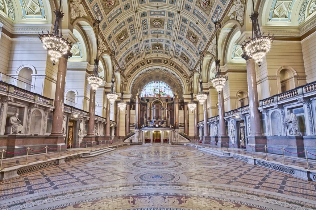 St George's Hall interior