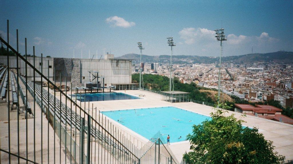 Montjuic Pool | © Arnaud 25/Wikicommons