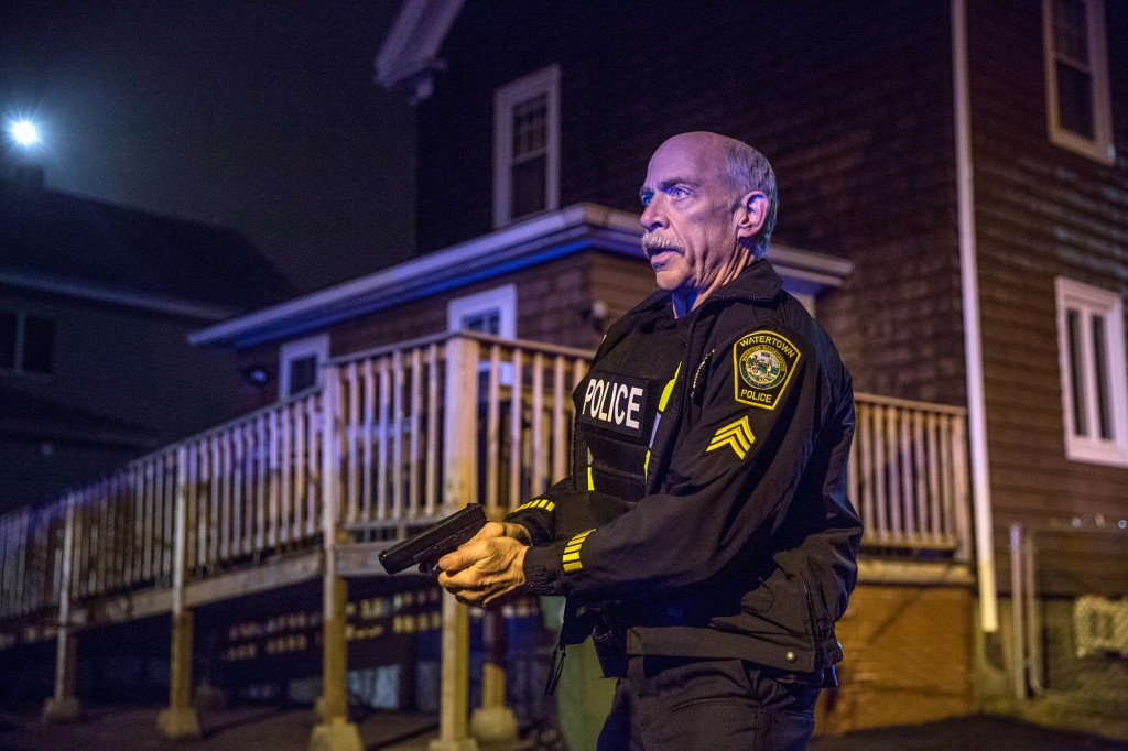 Jeffrey Simmons playing Watertown Police Sergeant Jeffrey Pugliese in the film | © Lionsgate Films UK