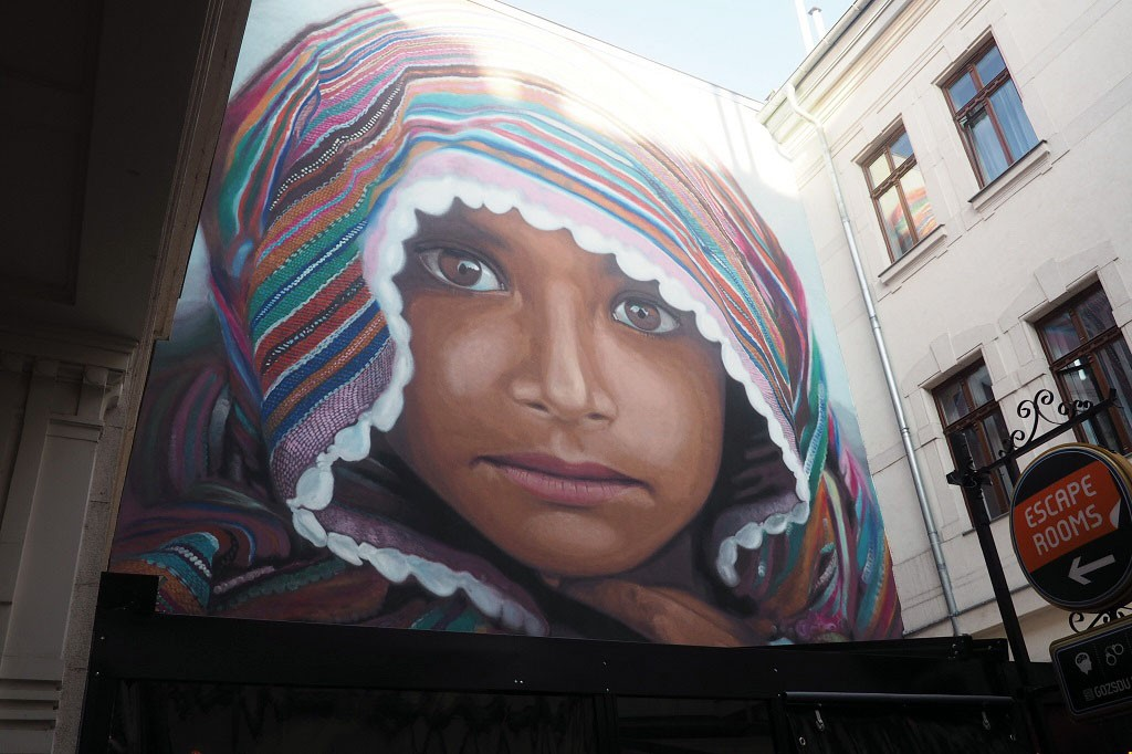 UNHCR Street Art