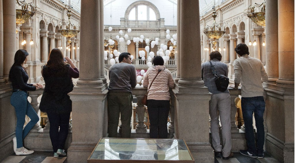 Visitors At Kelvingrove | Courtesy of Glasgow Life