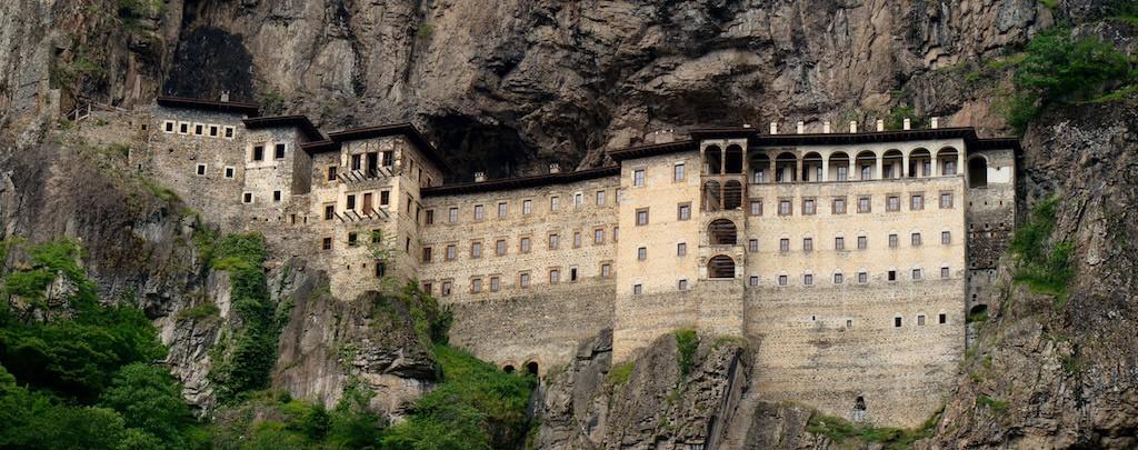 Sumela Monastery/Wikimedia Commons