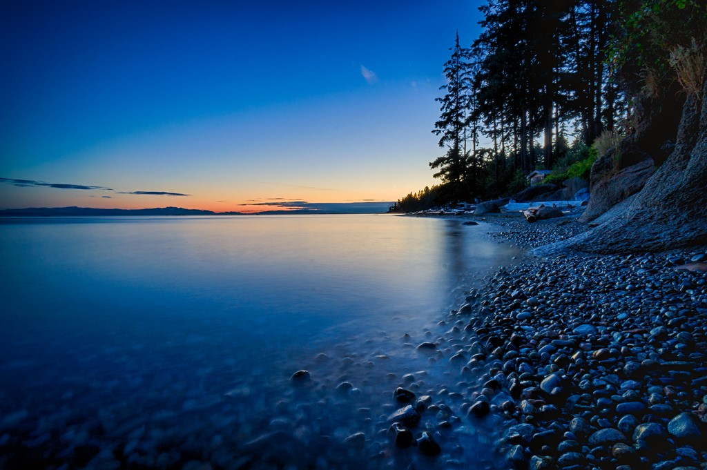 Twilight at Roberts Creek | © James Stewart / Flickr
