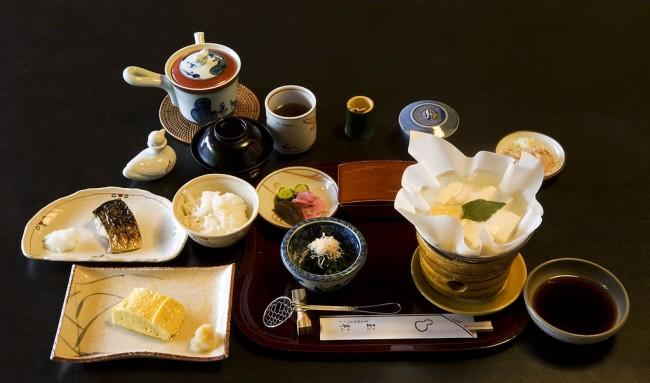 Breakfast at Tamahan Ryokan