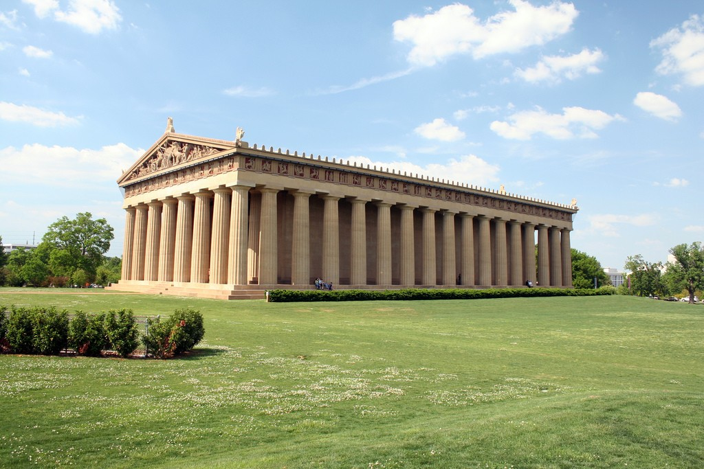 Nashville Parthenon / (c) Will Powell / Flickr