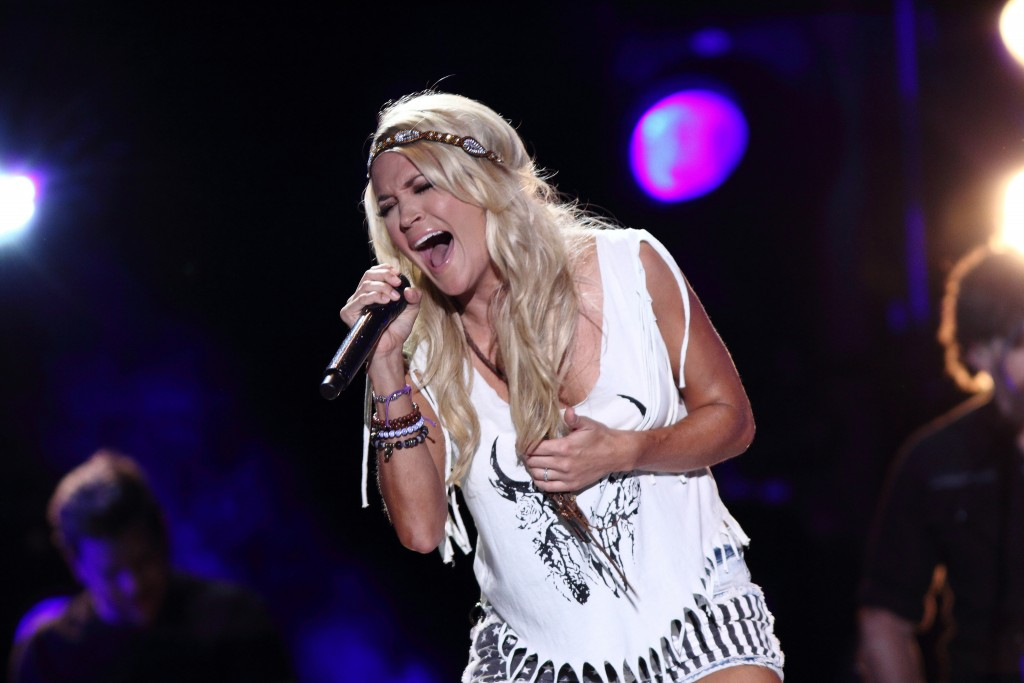 Carrie Underwood at CMA Music Fest / (c) Larry Darling / Flickr