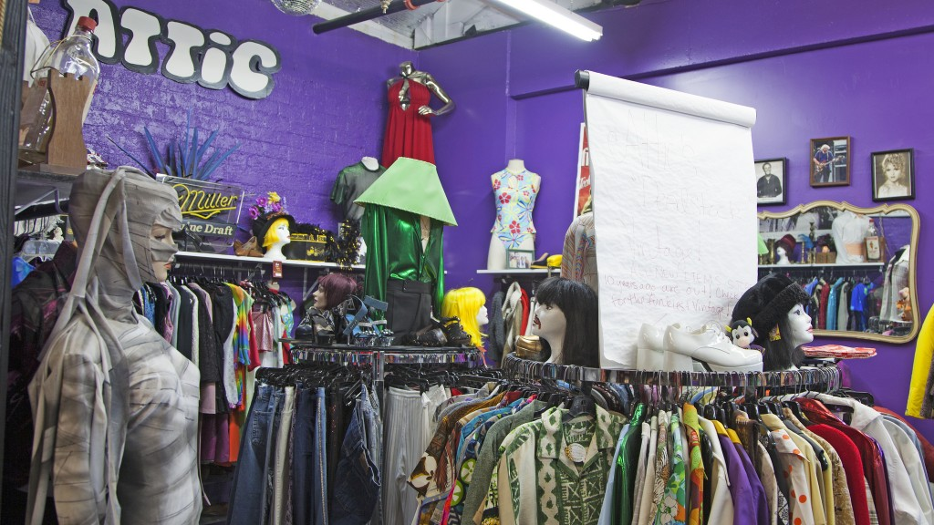 The Attic Vintage Clothing Co.  ©Travel Nevada/Flickr