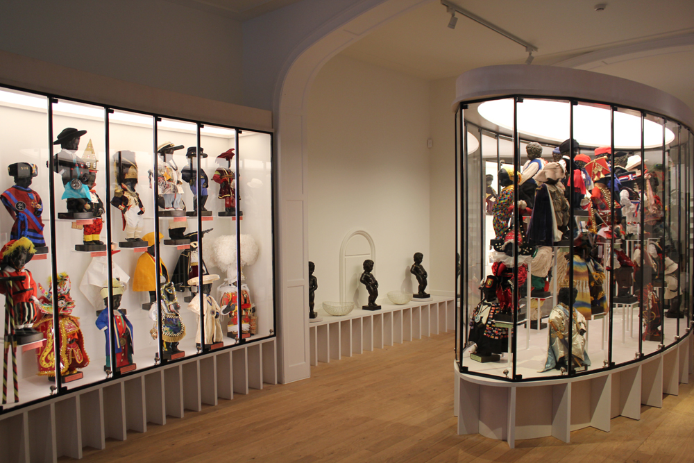The Manneken's new GardeRobe displays 130 of the little lad's finest costumes | Courtesy of City of Brussels