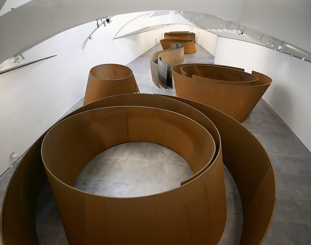 The Matter of Time by Richard Serra   Guggenheim Museum Bilbao