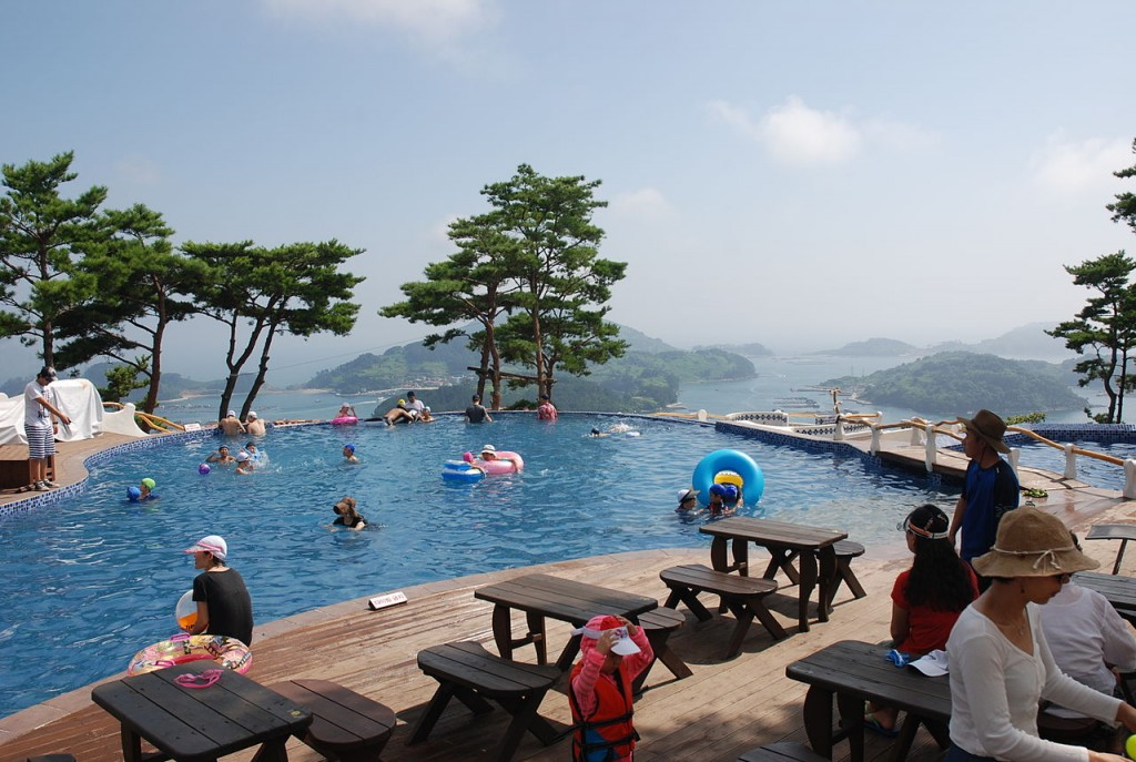 Scenery from Tongyeong ES Resort | © Asfreeas