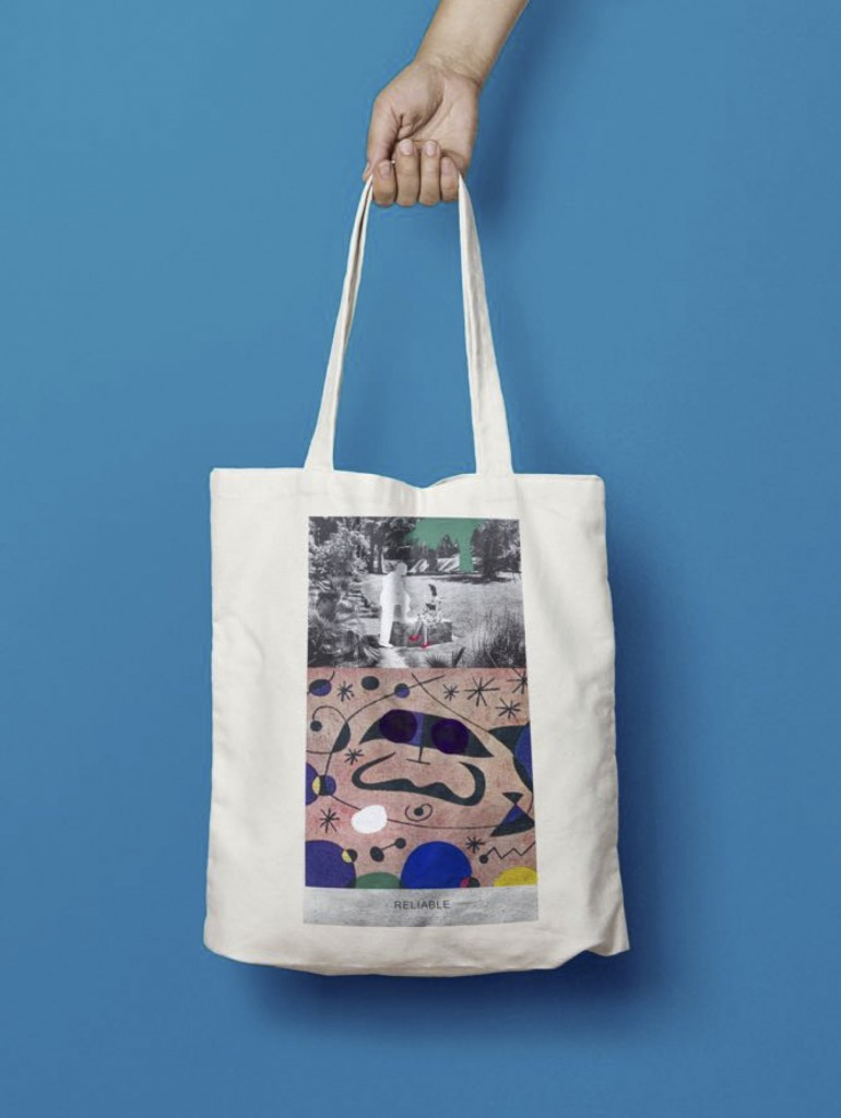 Tote bag © John Baldessari. Courtesy of Marian Goodman Gallery London