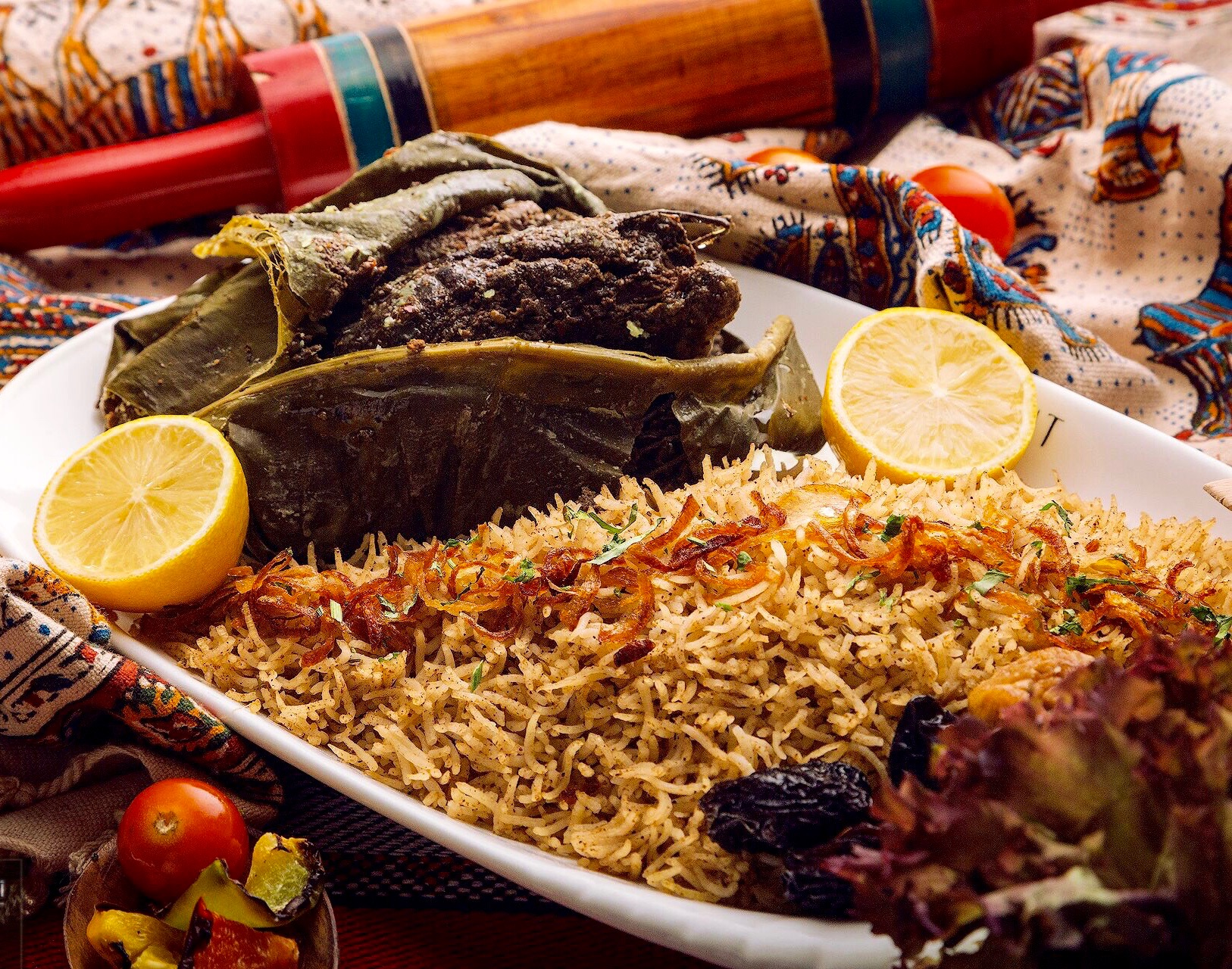 Oman's signature Shuwa dish – a fine speciality served across the country | © Orient Resturant & Cafe Muscat