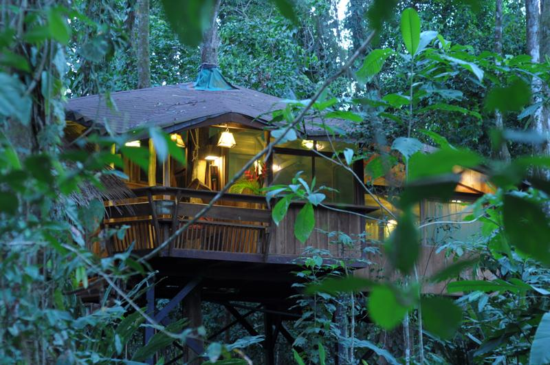 Bunk up with nature| ©Courtesy of Costa Rica Tree House Lodge