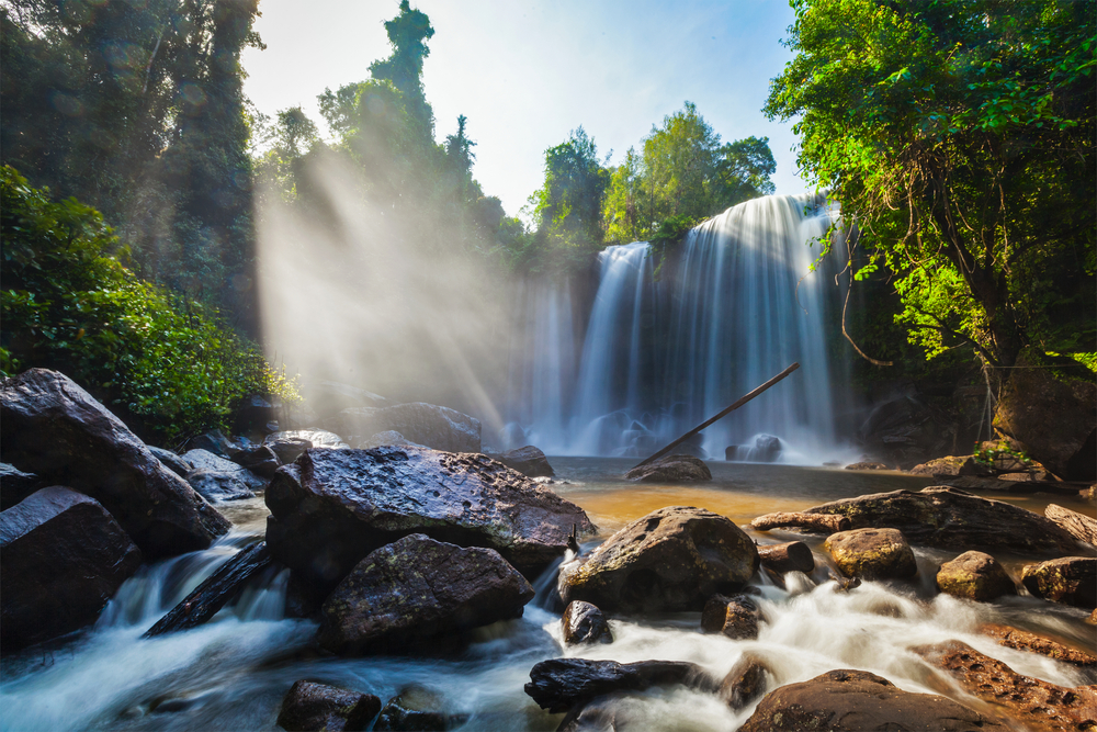 Tropical waterfall Phnom Kulen | © f9photos/Shutterstock