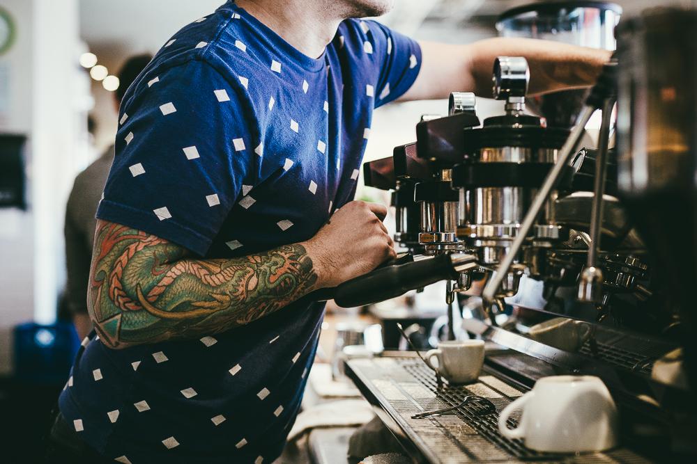 Peregrine Espresso, the busy hub at Union Market Courtesy of Peregrine Espresso
