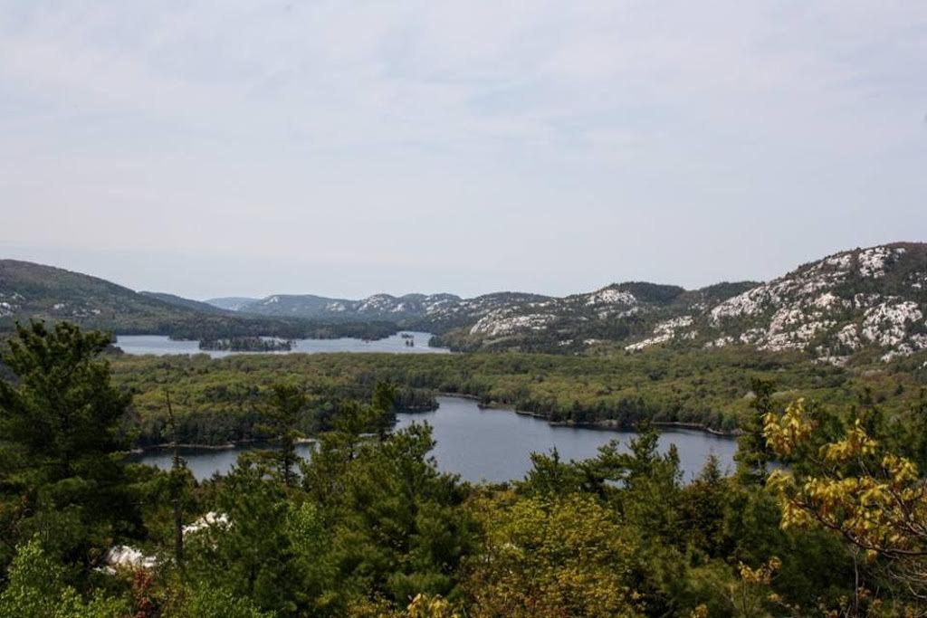 View from the Crack Trail, Killarney Provincial Park | © Laura Paskevics