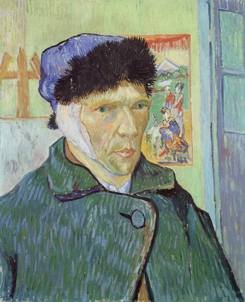 Vincent Van Gogh, Self-portrait with bandaged ear, 1889 | © The Samuel Courtauld Trust, The Courtauld Gallery, London