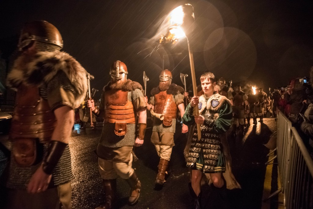 Up the ranks for Up Helly-Aa 2017 | ©Austin Taylor / VisitScotland