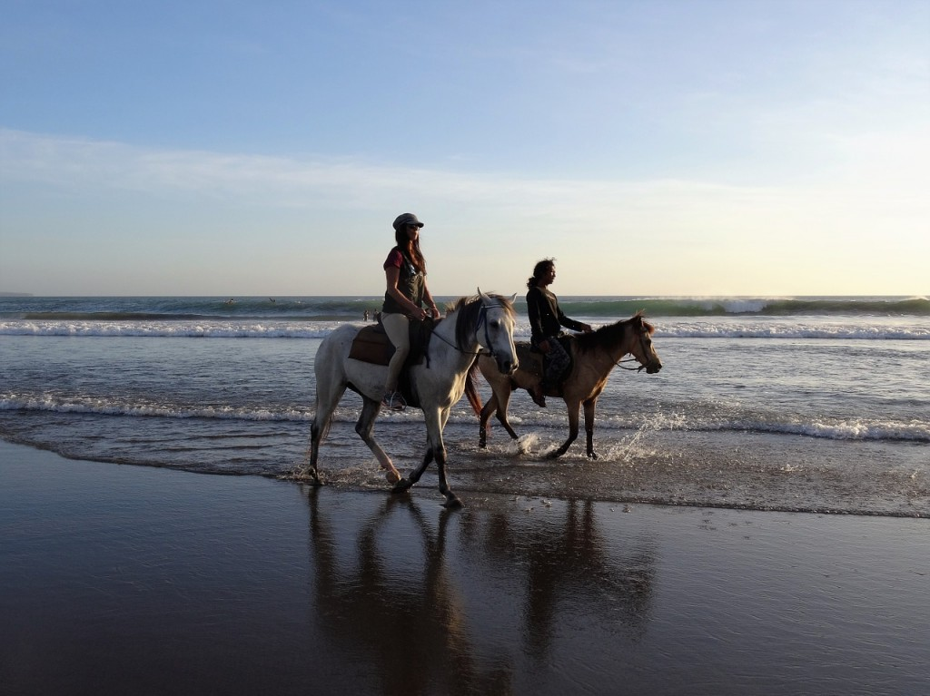 Enjoying Bali's Beaches