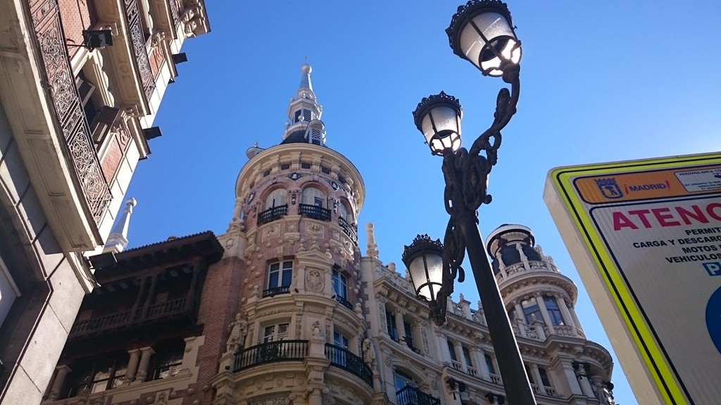 Don't forget to look up when walking Madrid's streets | © Lori Zaino