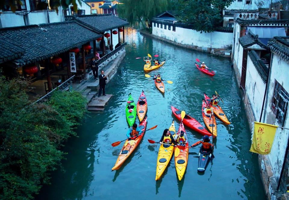 Water Town Kayaking | Courtesy of Traveler's Society