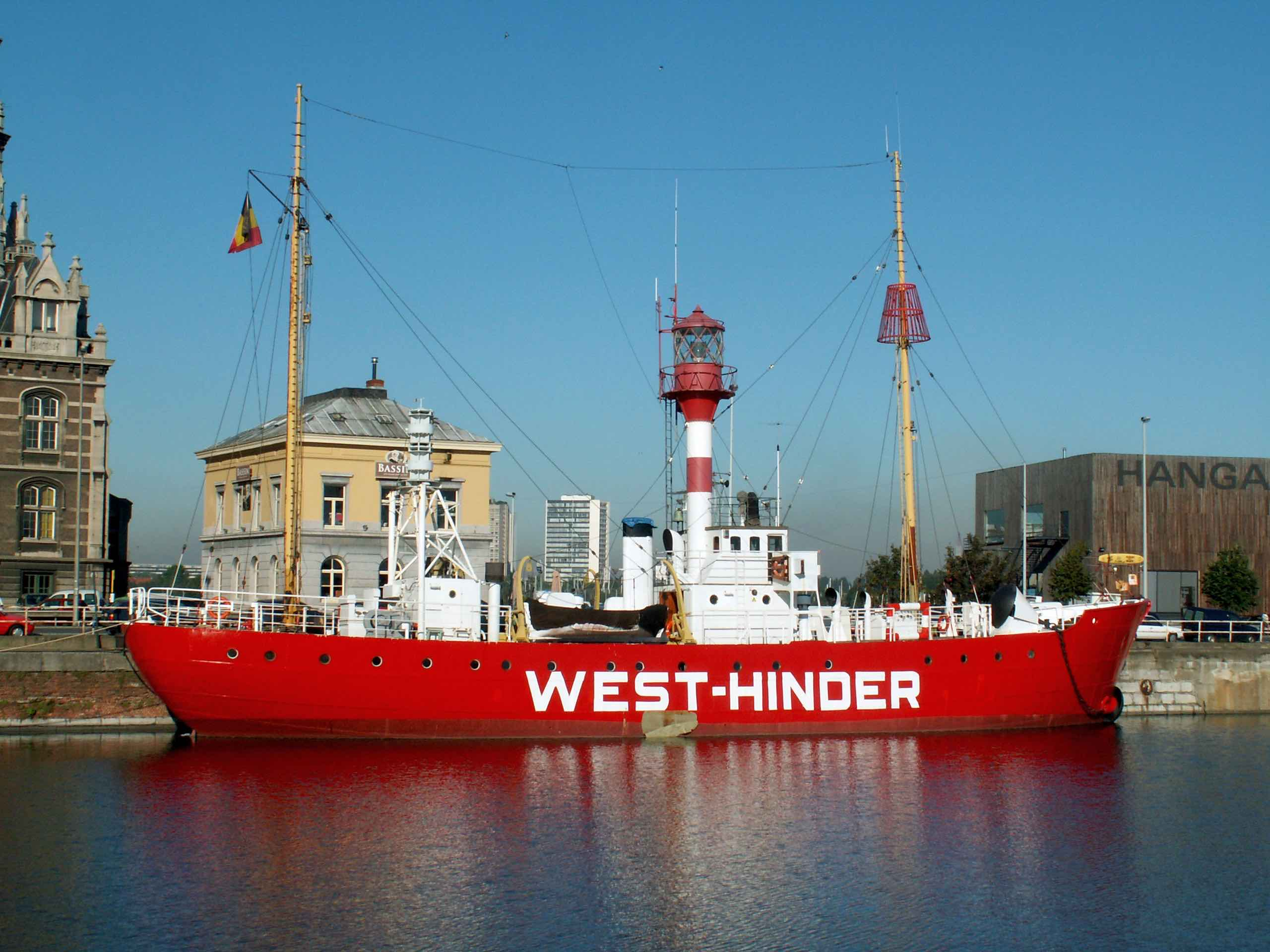 West-Hinder III lightship | © Alf van Beem / Wikimedia Commons