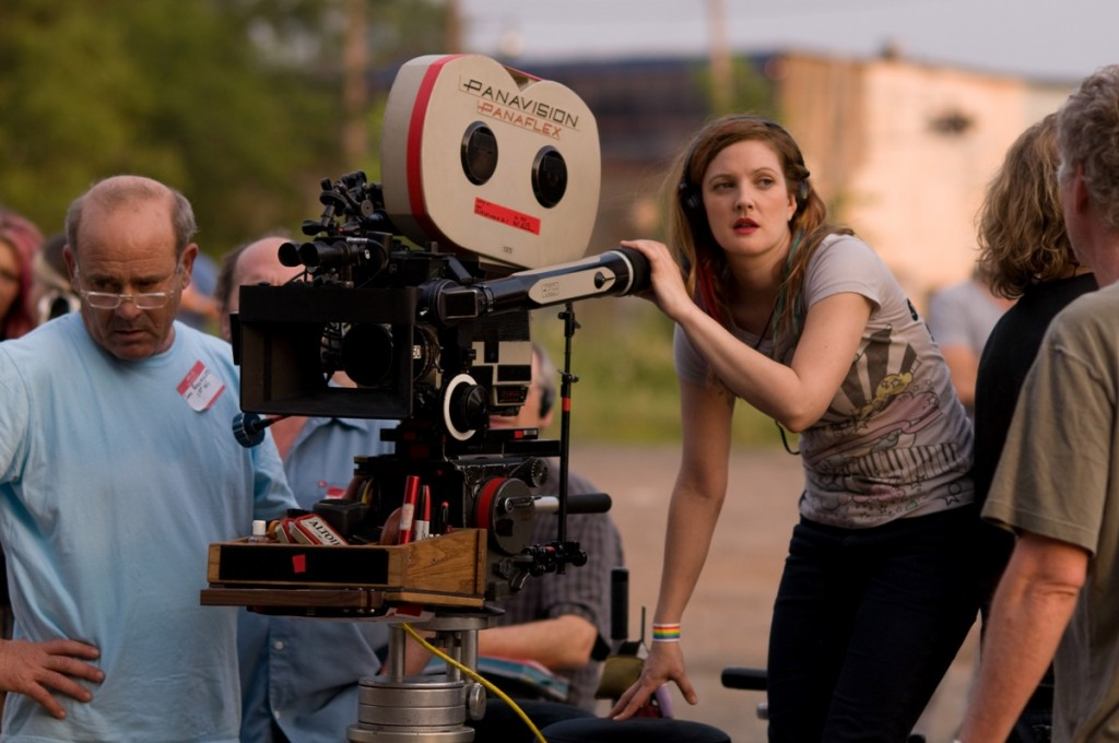 Drew Barrymore on the set of 'Whip It' | Darren Michaels