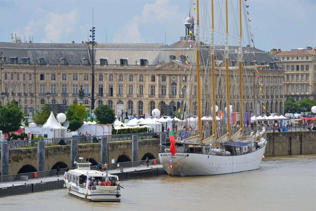 Wine festival in Bordeaux © BFV/Jean-Michel Destang