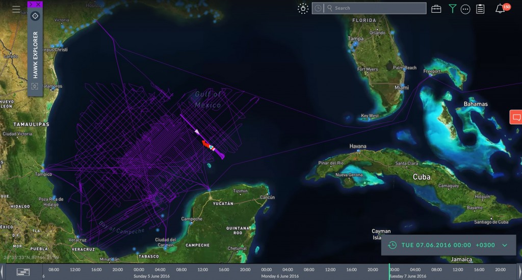 Windward allows users to track any ship, anywhere in the world, at any time | © Windward, courtesy