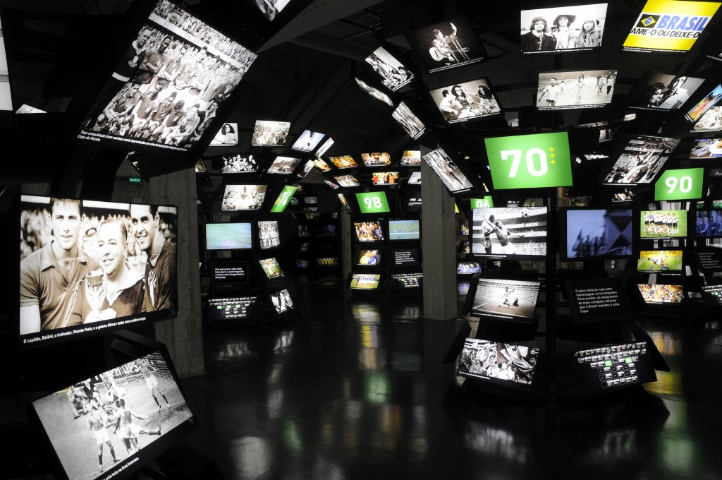 The World Cup Room at the Museu do Futebol © Museu do Futebol