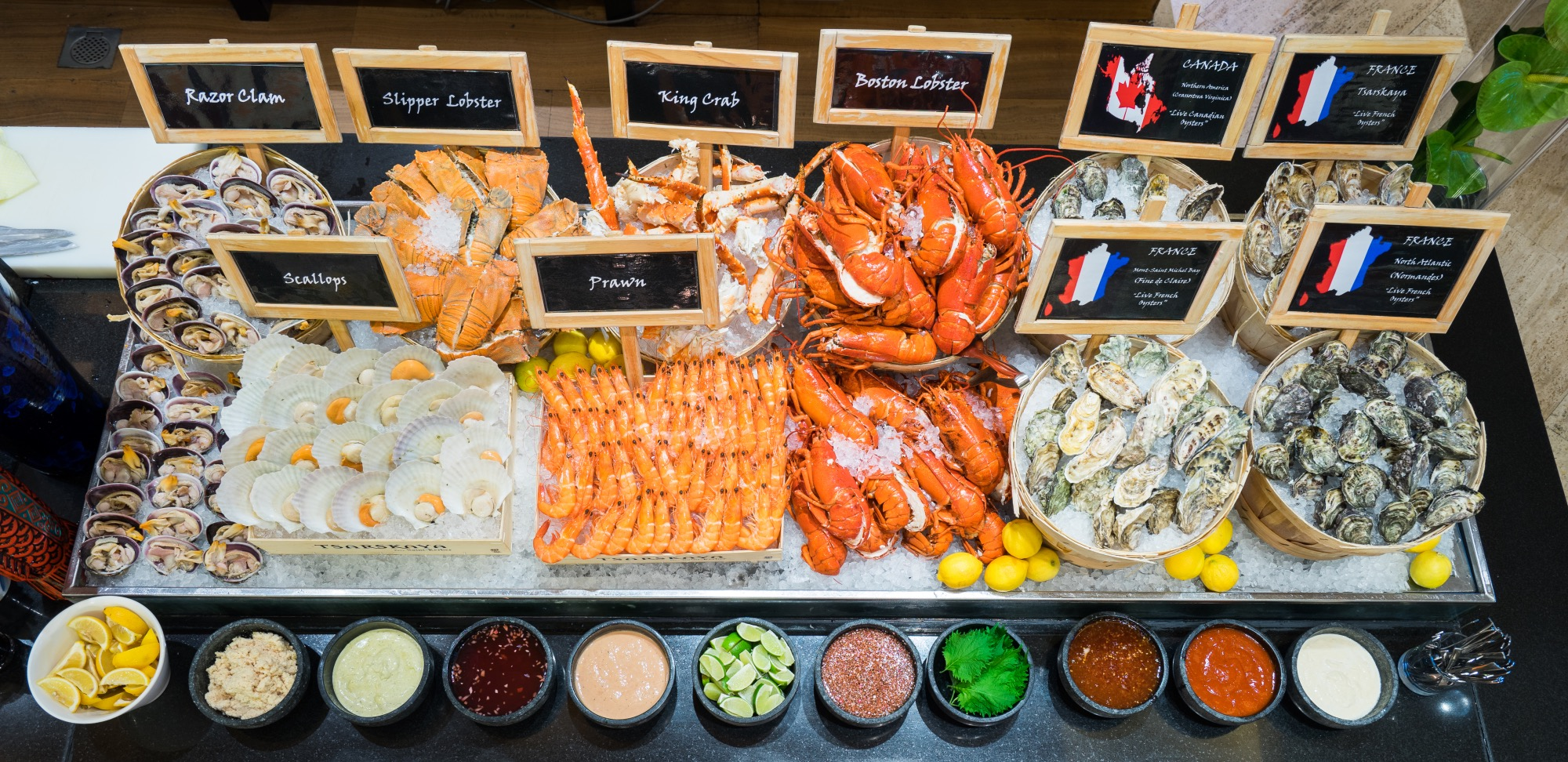 where to find the best seafood buffets in singapore. Black Bedroom Furniture Sets. Home Design Ideas