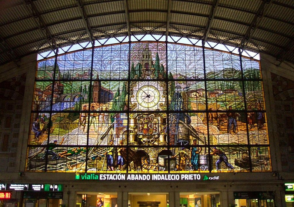Bilbao Estacion de Abando | ©Zarateman / Wikimedia Commons
