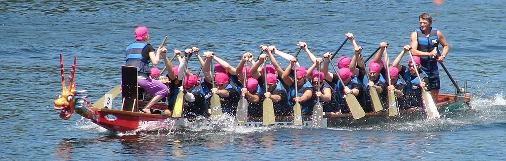 Dragon Boat, Budapest, 2010 | © Lajos.Rozsa/Wikimedia Commons