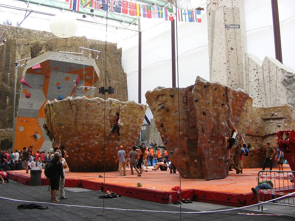 Edinburgh International Climbing Arena | © WikiCommons