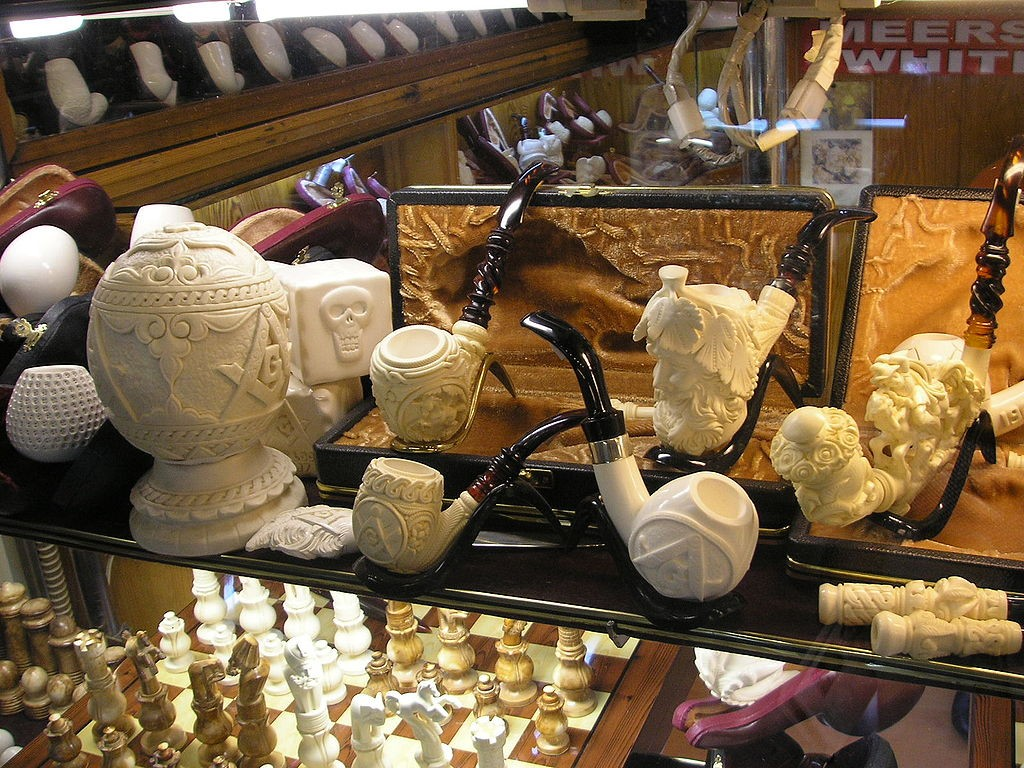 Meerschaum Pipes | © Gryffindor/Wikimedia Commons