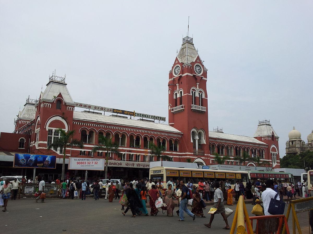 Chennai Central Railway Station | © Rameshng / Wikimedia Commons
