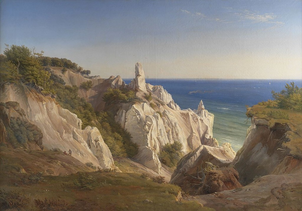 Louis Gurlitt, Møns Klint, 1842, Statens Museum for Kunst
