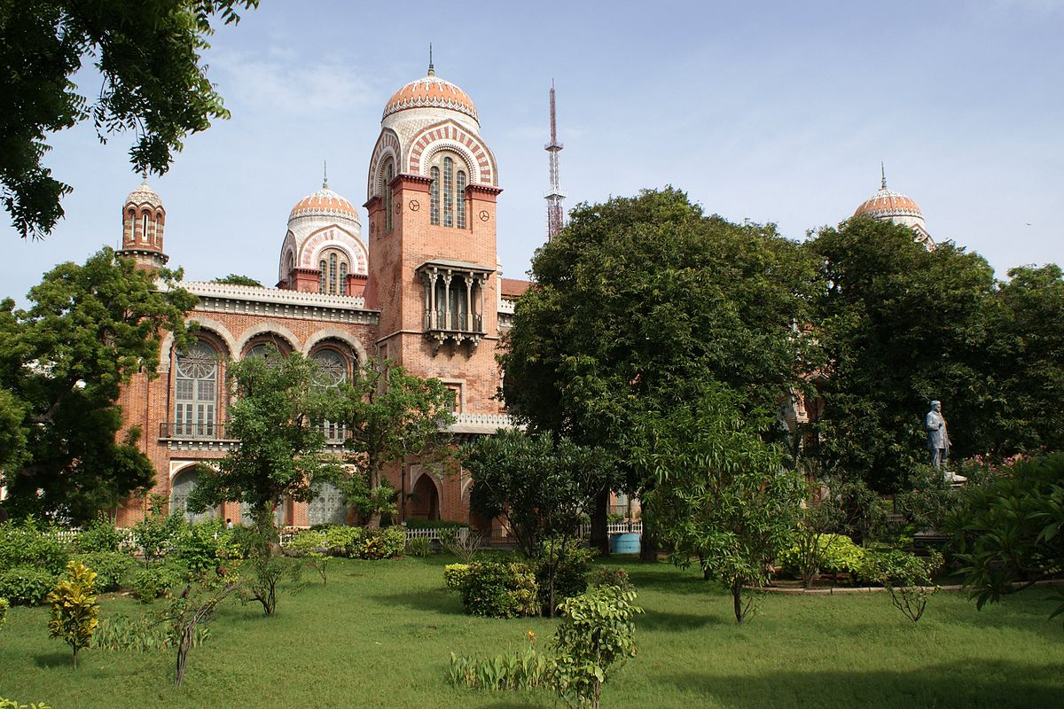 Senate House, University of Madras | © Jonas Buchholz/ Wikimedia Commons
