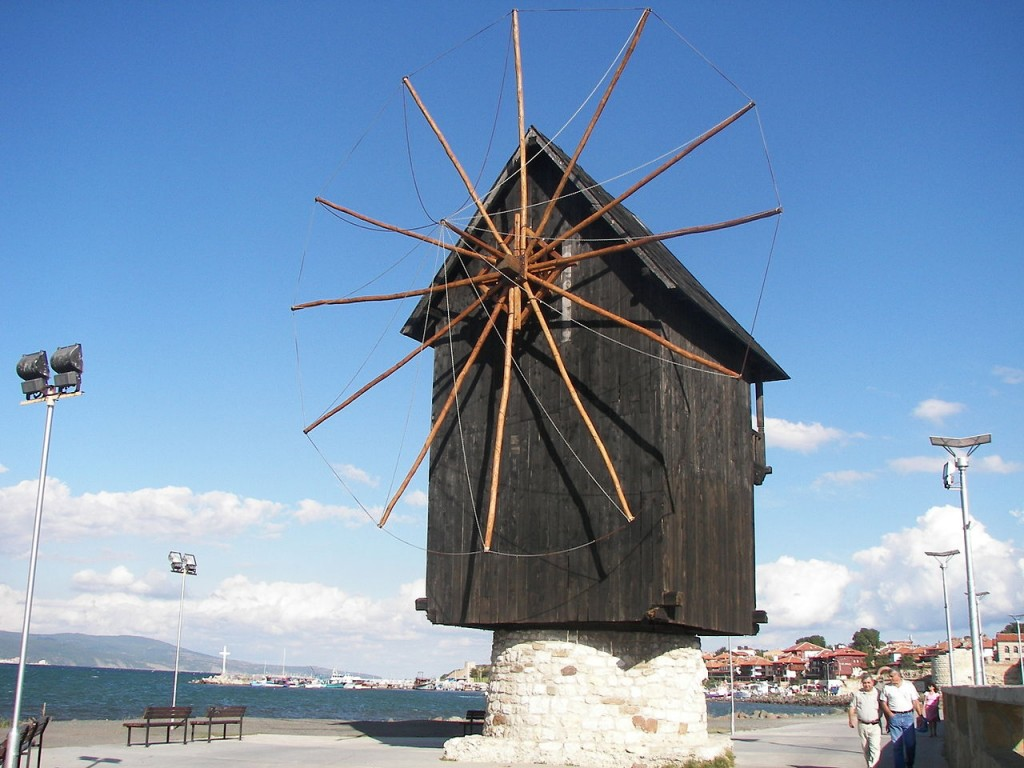 Nessebar's Windmill | © www.vacacionesbulgaria.com/WikiCommons
