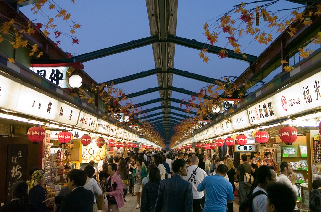 Nakamise-dori, Asakusa | © Opponent/WikiCommons