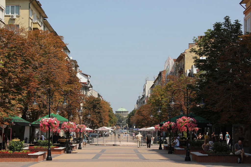 Vitosha Boulevard in Sofia | © Julian Nitzsche/WikiCommons