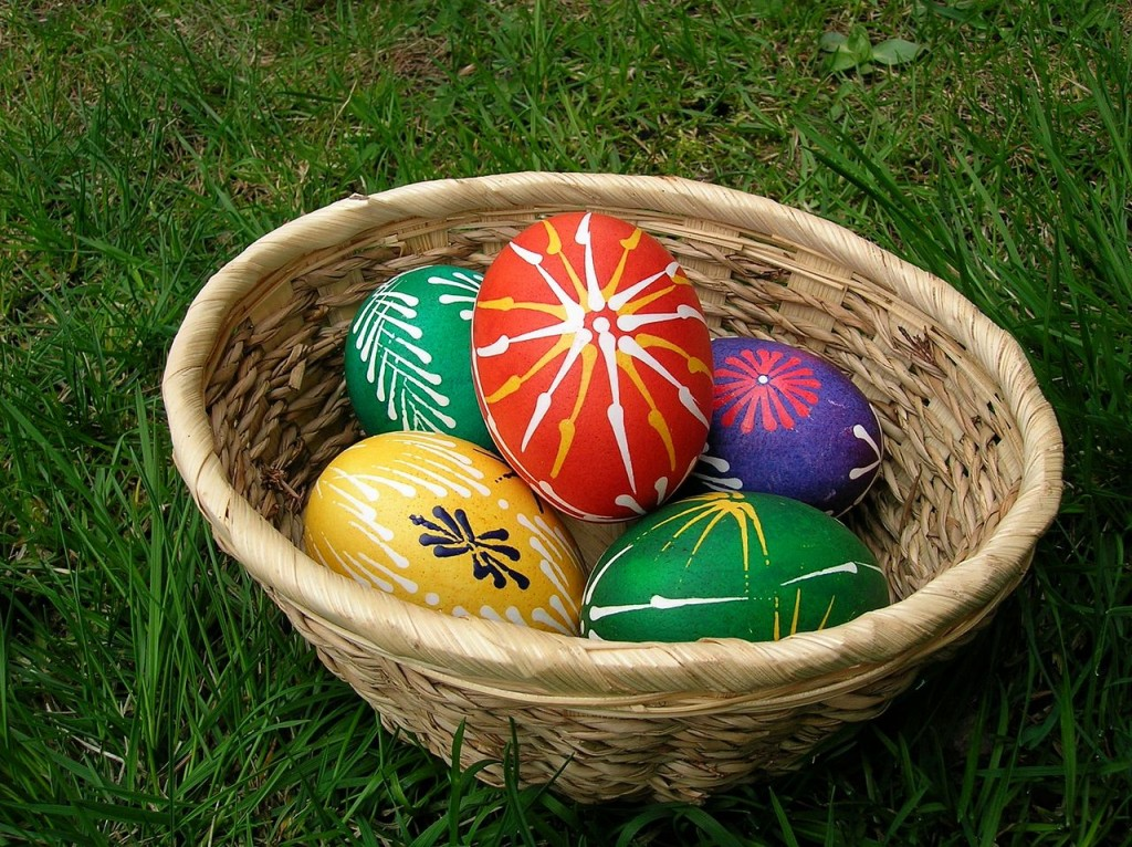Painted Easter eggs with wax| © Karakal/WikiCommons